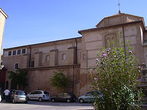Borja, Zaragoza - Church of Santa Clara convent