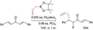 Boronic acid - Boronic acids in conjugate addition