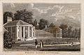Botanic Gardens, Liverpool, Merseyside. Line engraving by C. Wellcome V0012845.jpg