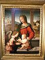 Bottega di mariotto albertinelli, madonna col bambino e angelo.JPG