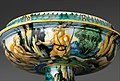 Bowl from a birth set with birth scene and Diana and Actaeon MET DP319673.jpg