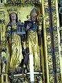 Brandenburg Katharinenkirche - Hochaltar 2b Amalberga Ägidius.jpg