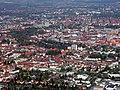 Braunschweig Brunswick Luftbild aus Westen (2007).JPG