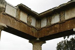 Metope - Image: Brauron 10