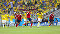 Brazil and Colombia match at the FIFA World Cup 2014-07-04.jpg