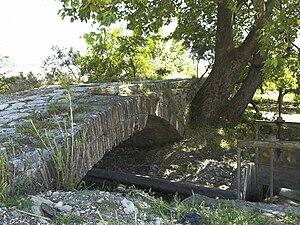 Bridge near Limyra - The 1st arch seen from the south.