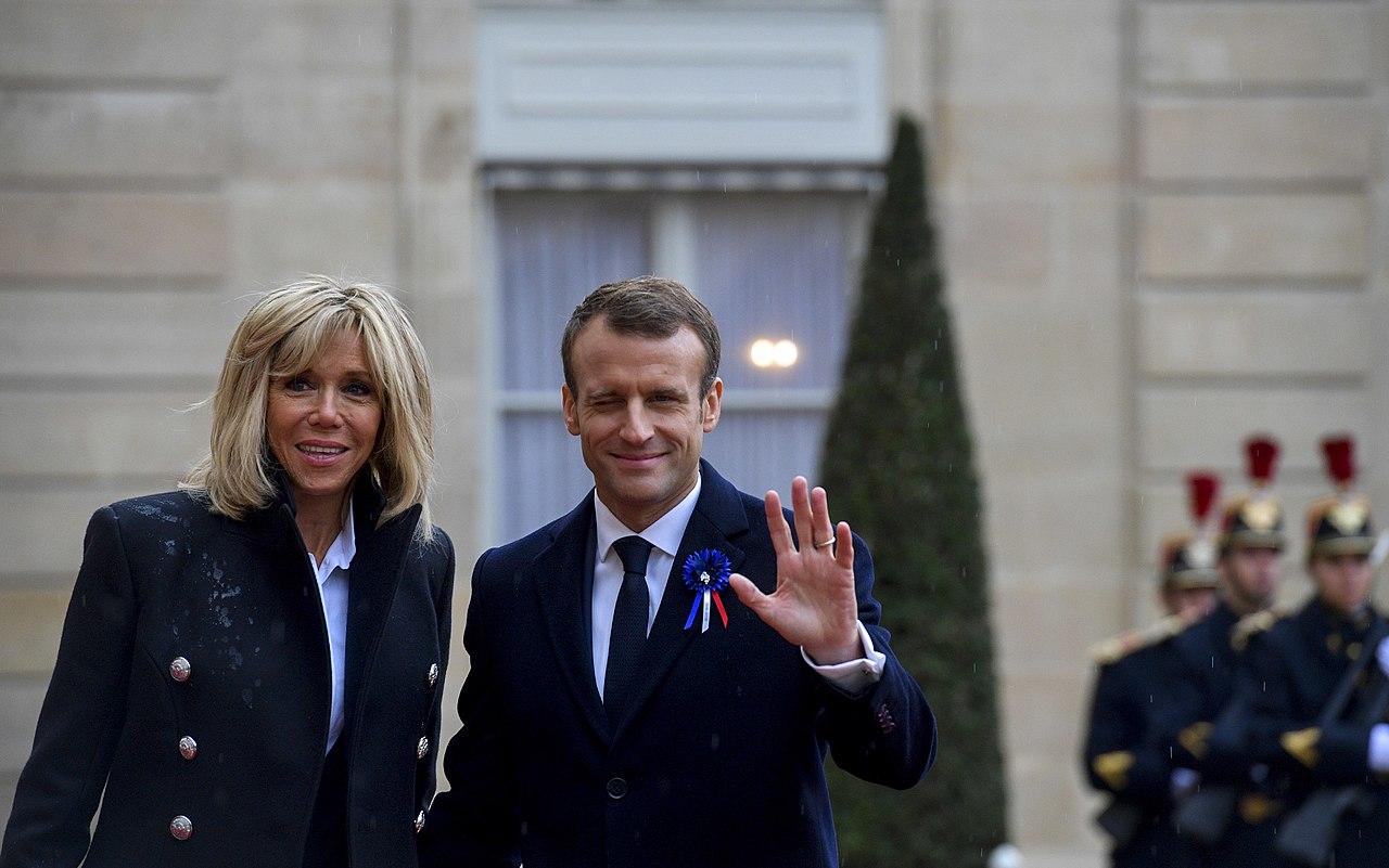 Brigitte Macron and Emmanuel Macron - November 2018 (1541931666).jpg