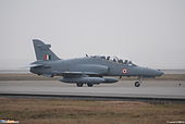 British Aerospace Hawk 132 India Air Force ZK130 (2949445028).jpg