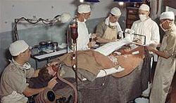 British wwii operating theatre