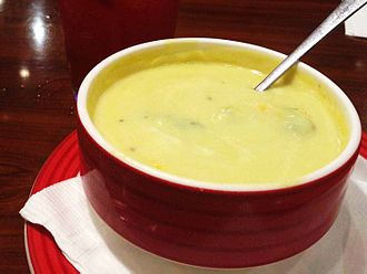 Cheese soup - Broccoli cheese soup