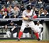 Brock Holt batting in game against Yankees 09-27-16 (6).jpeg