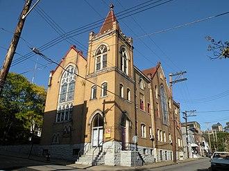Brown Chapel A.M.E. Church (Pittsburgh, Pennsylvania) - Image: Brown Chapel A.M.E.Church Pittsburgh