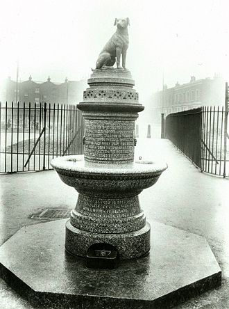 Brown Dog affair - Image: Brown Dog statue, Battersea, London(2)