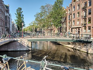 Bridge - Bridges in Amsterdam, Netherlands