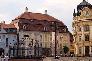 museum in Sibiu, Romania