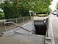 Bruxelles - Tunnel piétonnier avenue Émile Max côté Tour Reyers 2019-07-11.jpg