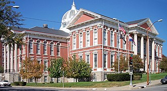 Buchanan County, Missouri - Image: Buchanan County Courthouse St Joseph Missouri