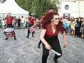 Bucuresti, Romania. Festivalul International de Teatru de Strada.13 Iulie- 5 August 2018. Formatia Batucada Timba (Spania)(10).jpg