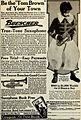 Buescher Saxophone Ad 1922 - Tom Brown.jpg