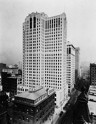 Buhl Building - Image: Buhl Building 1920