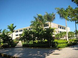 Universidad Autónoma de Santo Domingo - A building at Agronomy and Veterinary Sciences, Autonomous University of Santo Domingo