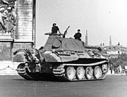 Bundesarchiv Bild 101I-721-0395-28, Paris, Panzer V (Panther) vor Arc de Triomphe.2