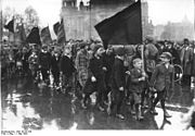 Bundesarchiv Bild 102-01356, Berlin, Demonstration der kommunistischen Jugend