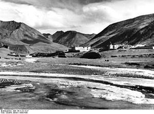 Ralung Monastery - Ralung Gompa. 1938.