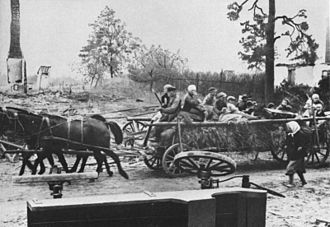 Evacuation of East Prussia - East Prussian refugees