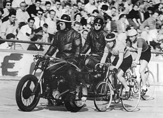 Motor-paced racing - Motor-paced racing, Berlin-Weißensee, 1958