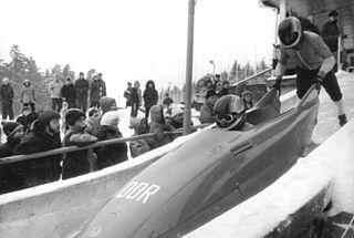 Bernhard Lehmann East German bobsledder