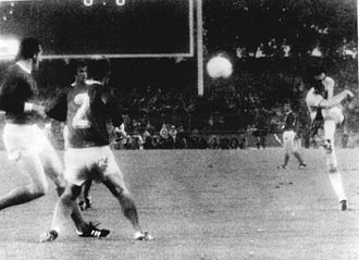 Ralf Edström - Ralf Edström scoring 1–0 against West Germany in the 1974 FIFA World Cup