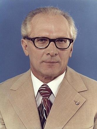 Erich Honecker - Honecker in 1976
