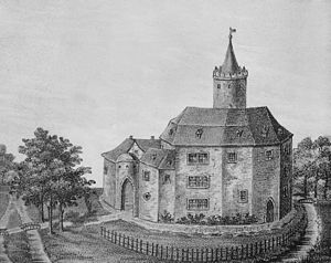 Calvörde Castle - Image: Burg Calvörde Görges