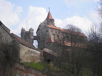 The Three Musketeers (2013 film) - Pernštejn Castle