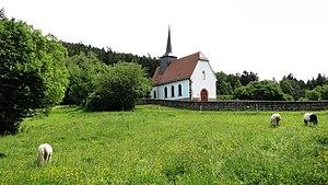 Biebergemünd - Burgbergkapelle St. Mauritius (Bieber)