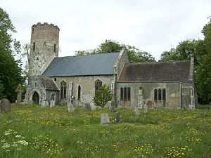 Burgh Castle - Church of St Peter and St Paul at Burgh Castle