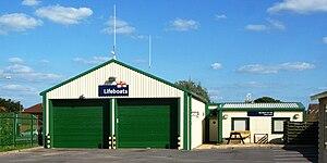 Burnham-on-Sea Lifeboat Station - Image: Burnham on Sea new lifeboat station