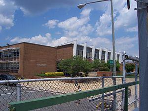 Burr Gymnasium - Burr Gymnasium from the outside, Howard University athletic venue