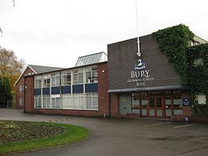 Bury Grammar School - Main Entrance