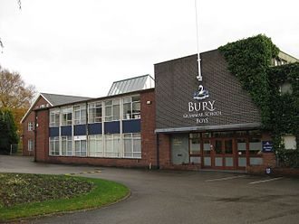 Bury Grammar School - Main Entrance
