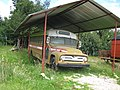 Bus antiguo en el pueblito antiguo Boyacence - panoramio.jpg