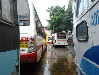 T. Nagar - Buses at The T.Nagar Bus Terminus
