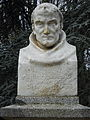 Bust of Maffre Ermengaud, Beziers, France.JPG