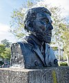 Bust of Timothy McCarthy on the Timothy and Mortimer McCarthy memorial by Graham Brett, Kinsale.jpg