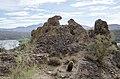 Butcher Jones Trail to Pinter's Point Loop, Tonto National Park, Saguaro Lake, Ft. McDowell, AZ - panoramio (30).jpg