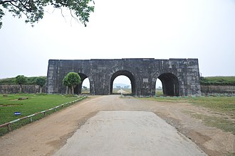 Citadel of the Hồ Dynasty - Image: Cổng Nam