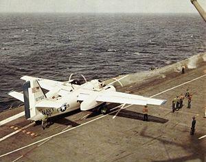 C-1A Trader on USS Intrepid (CVS-11) 1967.jpg