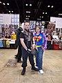 C2E2 (Day 2) 2014, Hawkeye and Superwoman 2.jpg