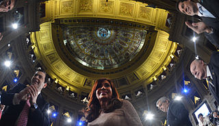 2015 opening of regular sessions of the National Congress of Argentina